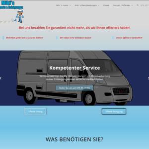 Landingpage & Blog